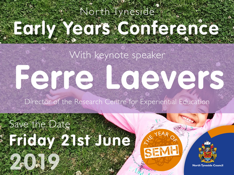 North Tyneside Early Years Conference with Keynote Ferre