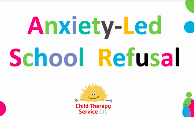 Anxiety-led school refusal logo