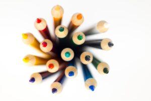 sharp coloured pencils